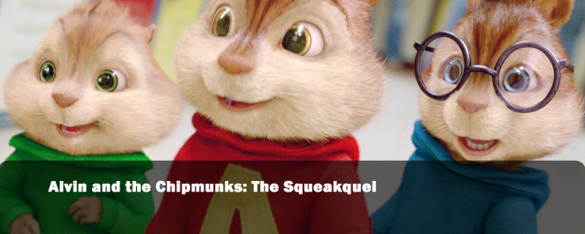 alvin andthe chipmunks squeakquel