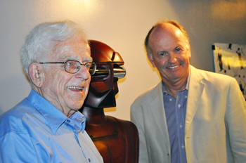 robot designer and ellenshaw