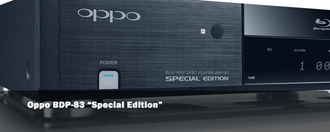 oppo bdp 83 special edition