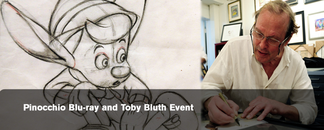 pinocchio toby bluth event