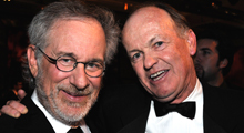 steven spielberg and harrison ellenshaw