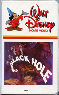 The Black Hole VHS 1980 - Pics about space